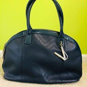 Authentic Versace Blue Handbag